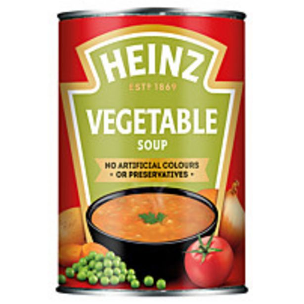 Heinz Classic Vegetable Soup 400g offer at £2