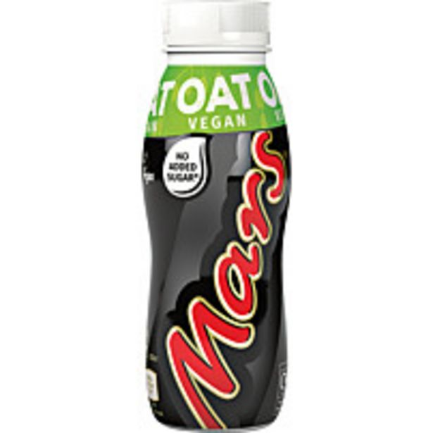 Mars Vegan Chocolate Oat Milk Drink 250ml offer at £1.25