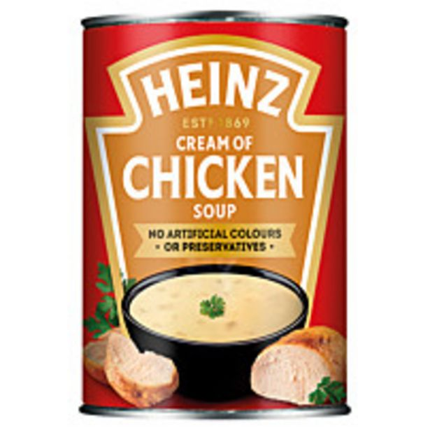 Heinz Classic Cream Of Chicken Soup 400g offer at £2
