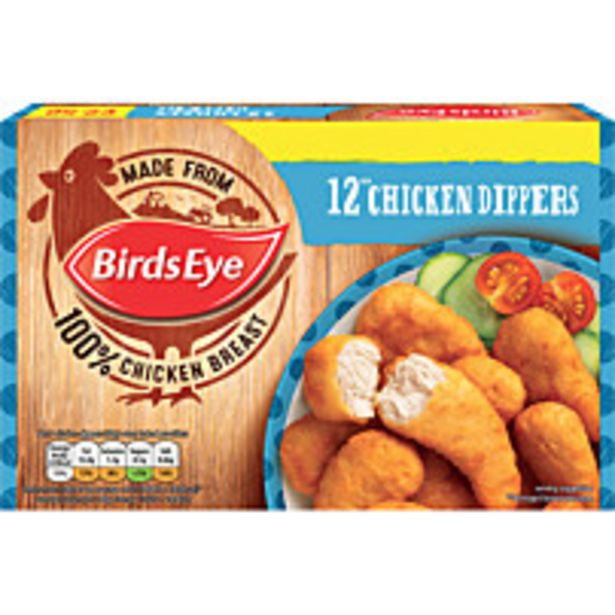 Birds Eye Chicken Dippers 12pk offer at £1.49