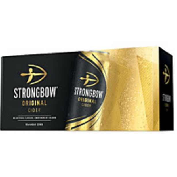 Strongbow Original Cider 10x440ml offer at £10