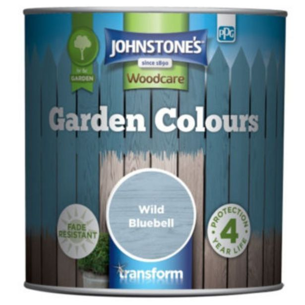 Garden Colours Fade Resistant Woodcare Wild Bluebell offer at £7