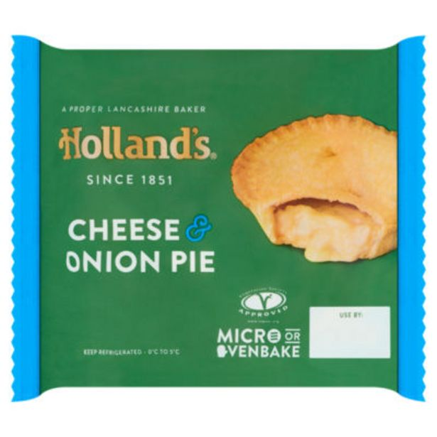 Cheese & Onion Pie offer at £0.75