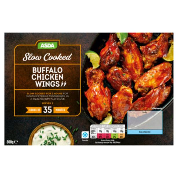 Slow Cooked Buffalo Chicken Wings offer at £4