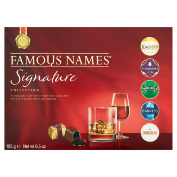 Boxed Chocolate Liqueurs Collection offer at £3.5