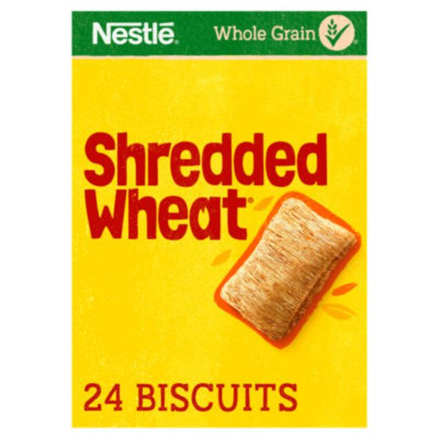 Shredded Wheat 24 Biscuits offer at £2.5