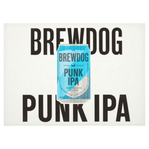 Punk Post Modern Classic IPA 12 Pack offer at £11.97