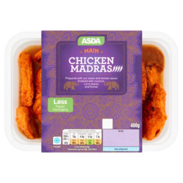 Chicken Madras offer at £2.75