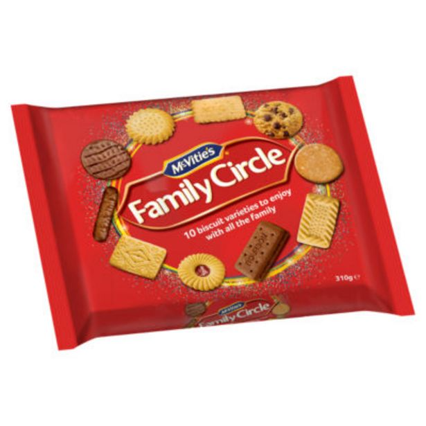 Family Circle Biscuit Assortment offer at £1.5