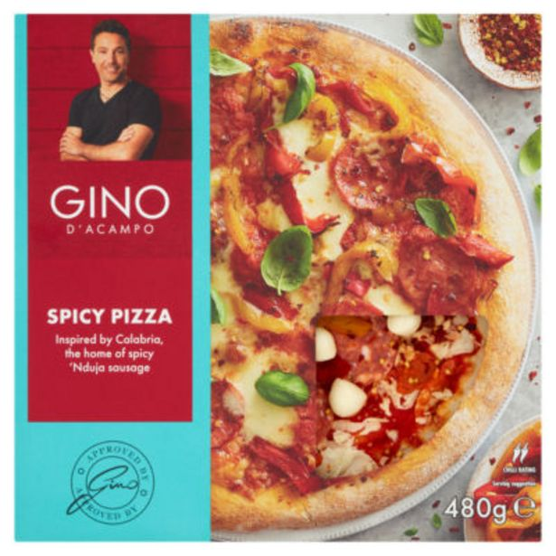 Spicy Pizza offer at £4