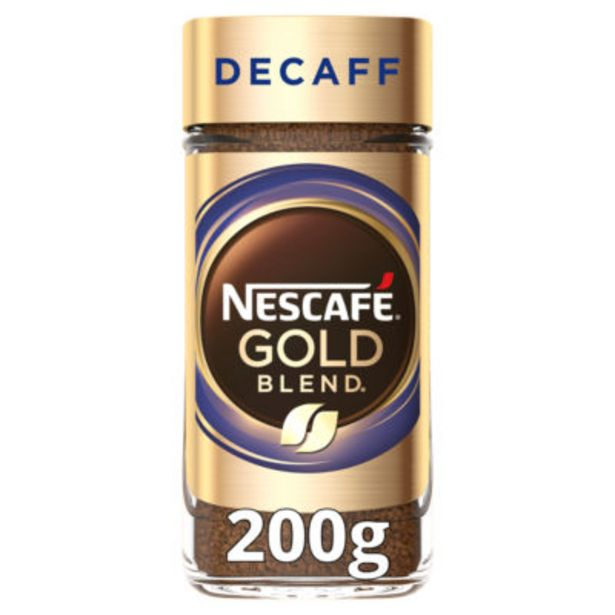 Gold Blend Decaff Instant Coffee offer at £4.5