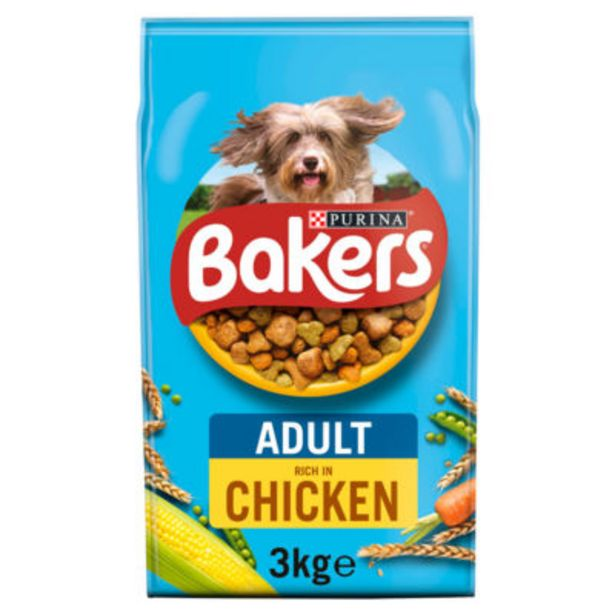 Dry Dog Food Chicken and Veg offer at £5.5