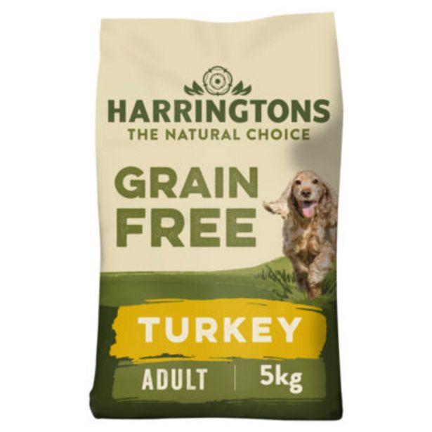 Grain Free Turkey, Sweet Potato & Veg Hypoallergenic Dry Adult Dog Food offer at £10