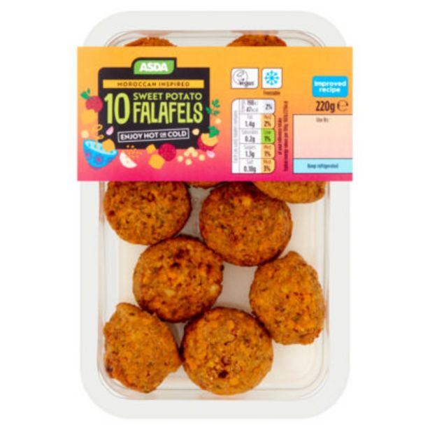 10 Sweet Potato Falafels offer at £1.9
