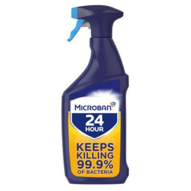 Antibacterial Bathroom Cleaner Spray Citrus offer at £2
