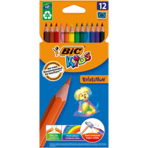 Kids Ecolutions Evolution Colouring Pencils offer at £2.25