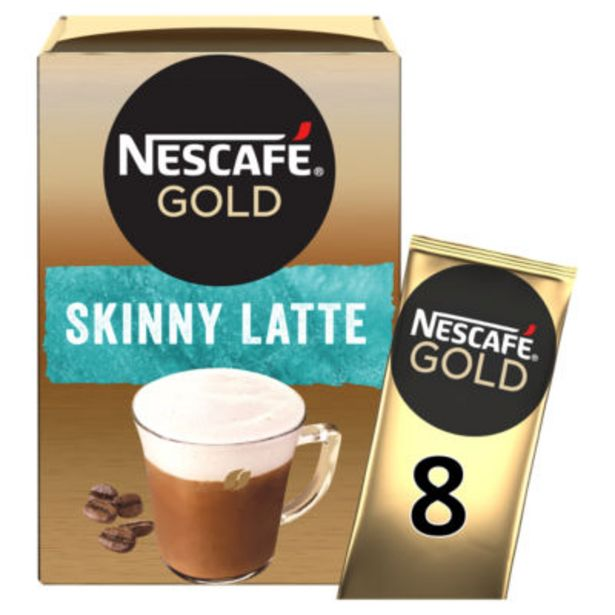 Gold Skinny Latte Coffee Sachets offer at £1.5