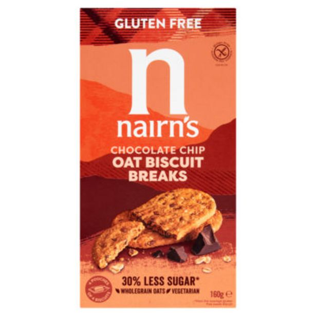 Gluten Free Biscuit Breaks Chocolate Chip offer at £1