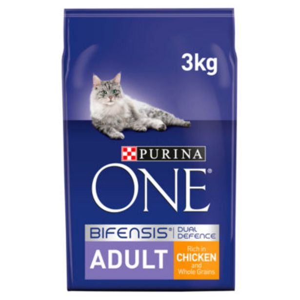 Adult Dry Cat Food Chicken and Wholegrains offer at £11