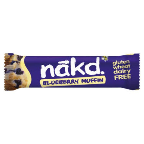 Blueberry Muffin Raw Fruit & Nut Bar offer at £0.5