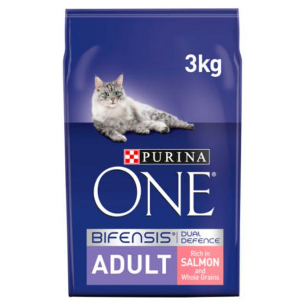Adult Dry Cat Food Salmon and Wholegrain offer at £11