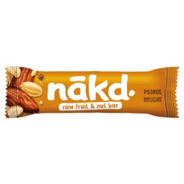 Peanut Delight Fruit & Nut Bar offer at £0.5