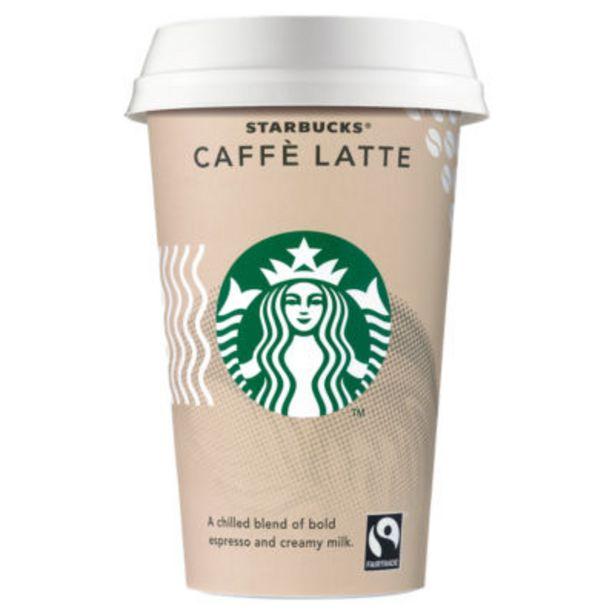 Starbucks Caffe Latte Coffee Drink offer at £1