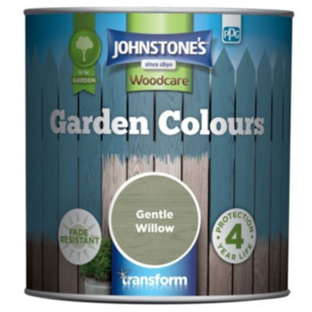 Garden Colours Fade Resistant Woodcare Gentle Willow offer at £7