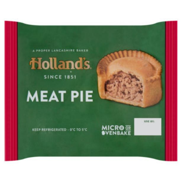 Meat Pie offer at £0.75