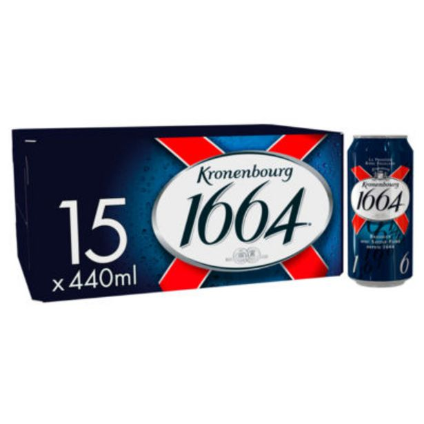 Lager Beer Cans offer at £11.97