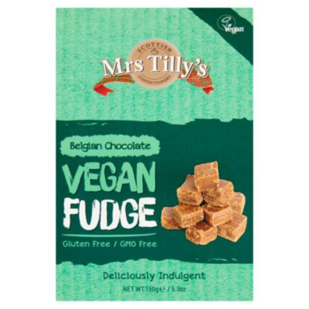 Belgian Chocolate Vegan Fudge offer at £1.8