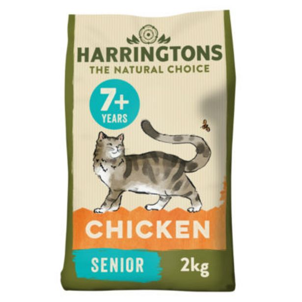 Chicken Senior Complete Dry Cat Food offer at £5