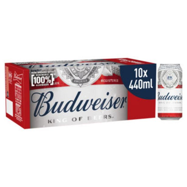 Lager Beer Cans offer at £7.97