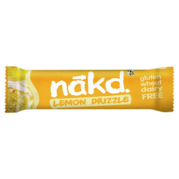 Limited Edition! Lemon Drizzle Raw Fruit & Nut Bar offer at £0.5