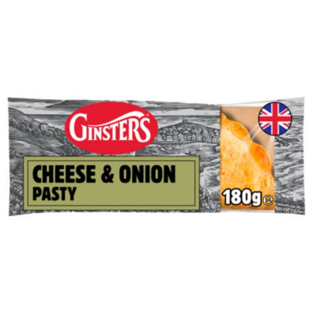 Cheese & Onion Pasty offer at £1