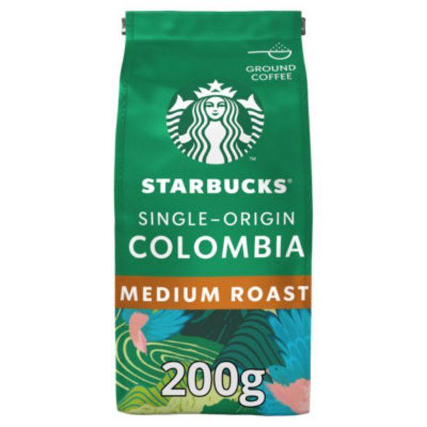 Single Origin Colombia Medium Roast Ground Coffee offer at £3