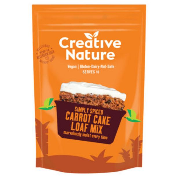 Carrot Cake Loaf Mix offer at £2