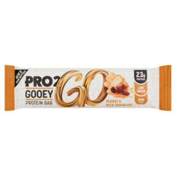 Gooey Protein Bar Peanut & Milk Chocolate offer at £1.5