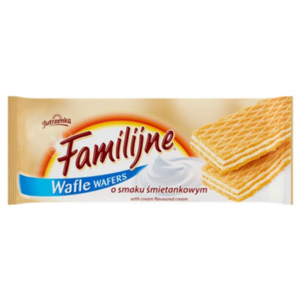 Wafle Wafers with Cream Flavoured Cream offer at £0.6