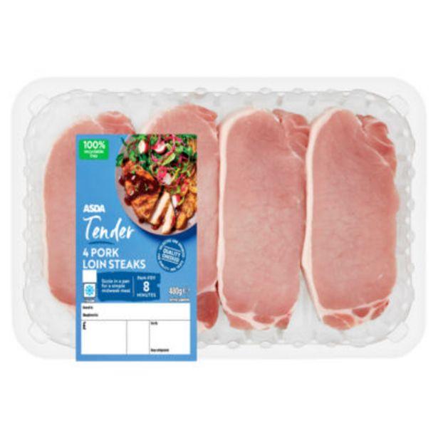 Pork Loin Steaks offer at £3