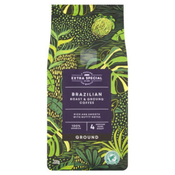 Brazilian Ground Coffee offer at £2.75
