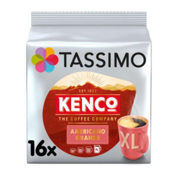 16 Kenco Americano Grande Pods offer at £3.5