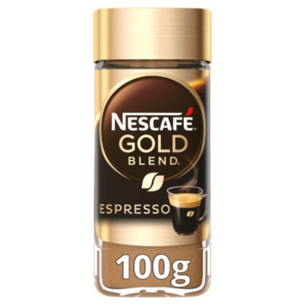 Espresso Instant Coffee offer at £3