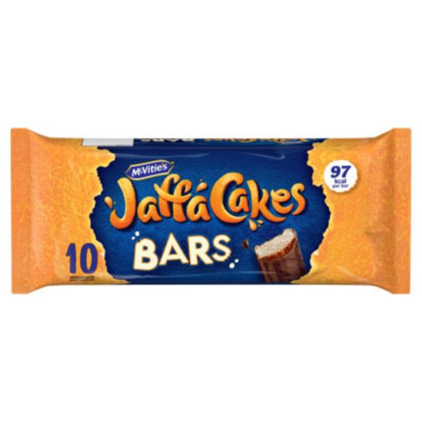 Jaffa Cakes Cake Bars offer at £1.5