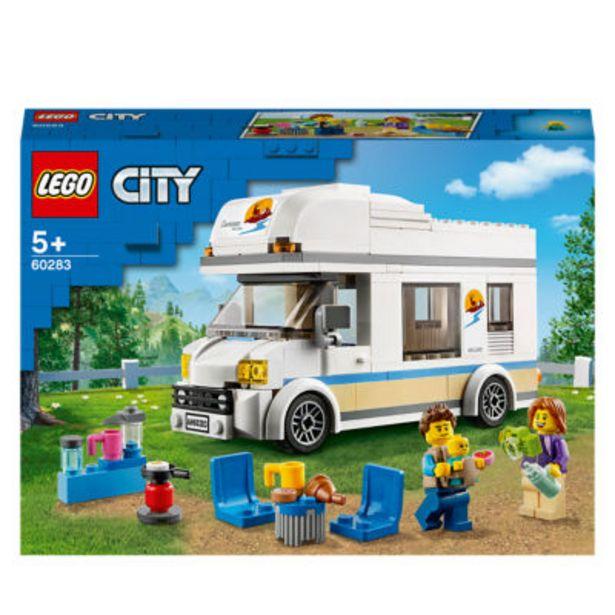City Holiday Camper Van Toy Car 60283 offer at £15