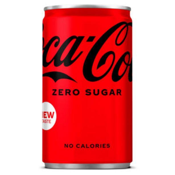 Zero Sugar Mini Can offer at £0.4