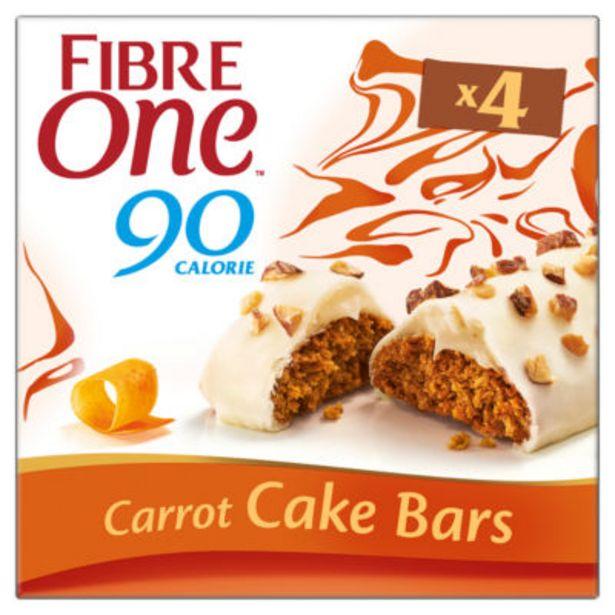 90 Calorie Carrot Cake Bars offer at £1.25