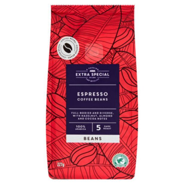 Espresso Coffee Beans offer at £2.75