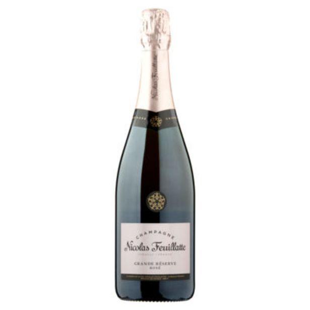 Champagne Brut Rosé offer at £21