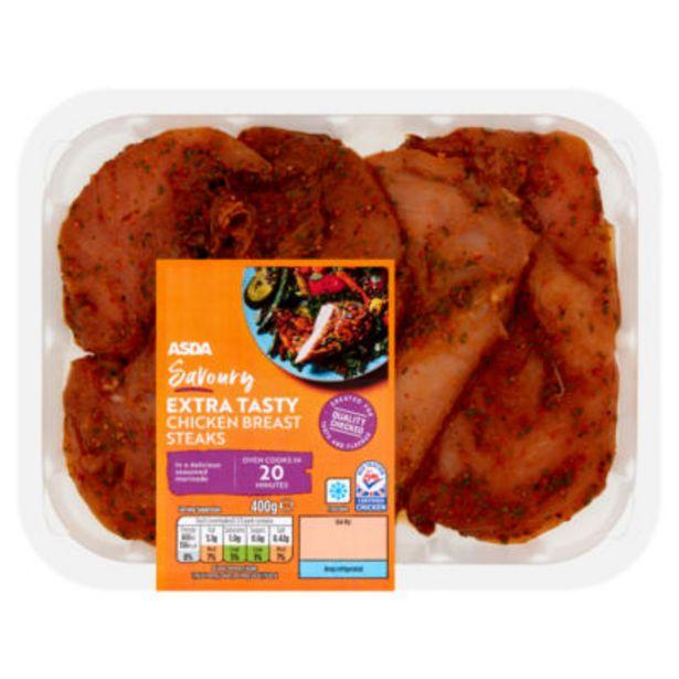 British Chicken Breast Steaks offer at £3.89